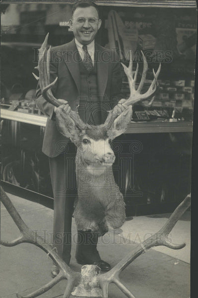 1934 Press Photo Colorado Deer and Elk Hunting - Historic Images
