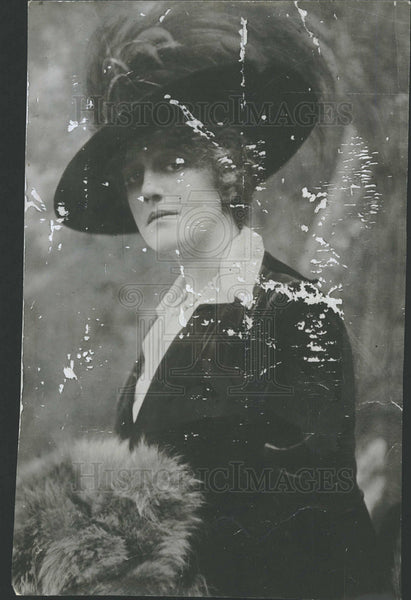 1917 Press Photo Mrs. Oliver Harriman Relief Antilles - Historic Images
