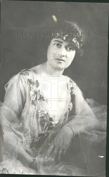 1917 Press Photo Annunziata Camila Maria Lucci Gould - Historic Images