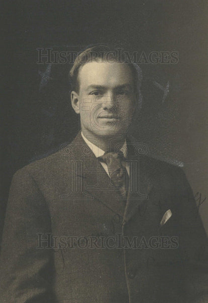 1913 Press Photo David J Main - Historic Images