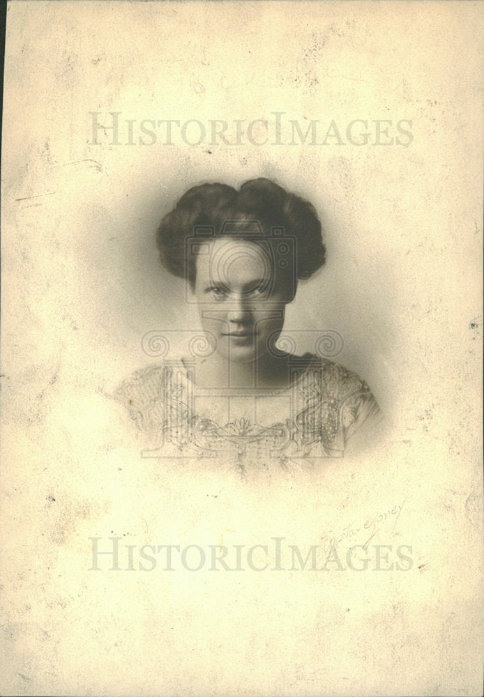 1912 Press Photo Mrs. Gray B. Gray - Historic Images