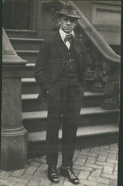 1918 Press Photo George Creel Journalist Politician - Historic Images