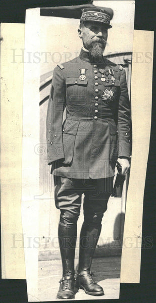 "1923 General Gouraud, The ""Lion of Argonne"" - Historic Images"