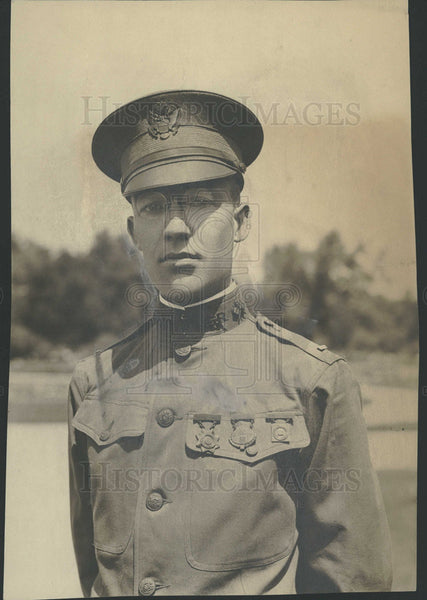 1917 Press Photo Lieut Charles Kunsemiller First Lieut - Historic Images