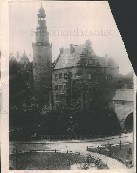 1919 Press Photo Castle of Prince Frederick Wilhelm. - Historic Images