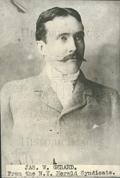 Press Photo James Gerald Judge Supreme Court New York - Historic Images