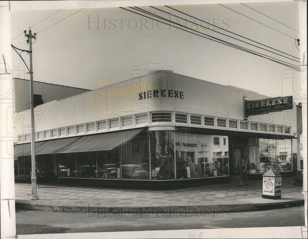 1912 Press Photo Sierkese fabric shopping mall Central  - Historic Images