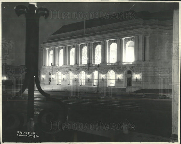 1933 Press Photo San Fransisco Memorial Opera House - Historic Images