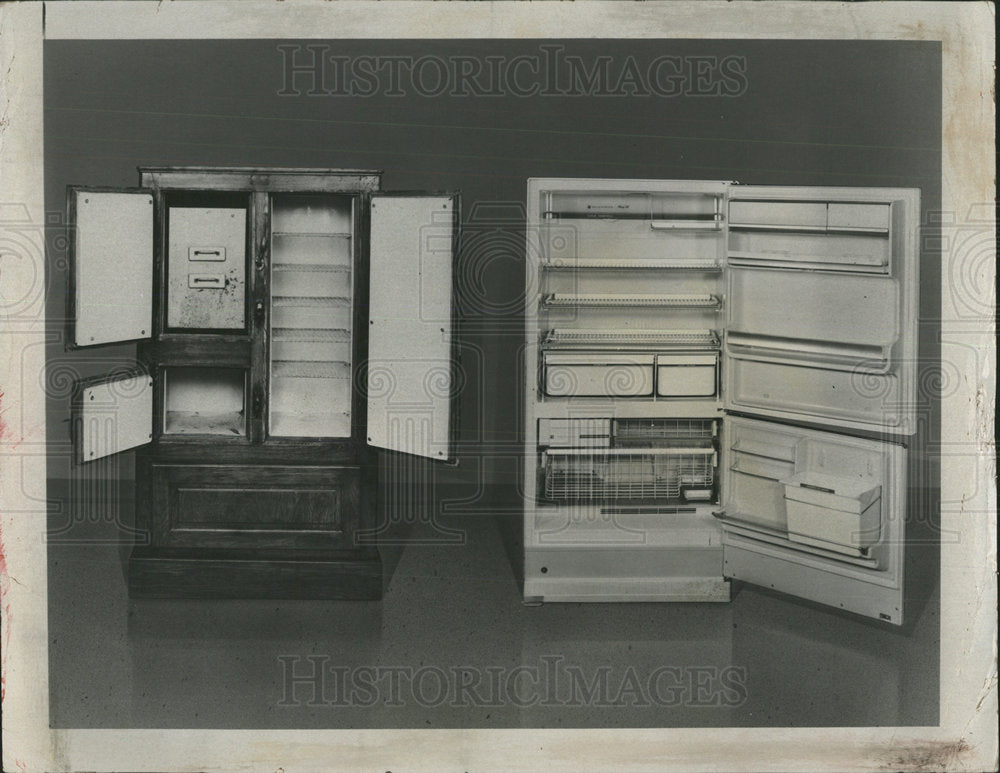1973 Press Photo Early Guardian Refrigerators - Historic Images