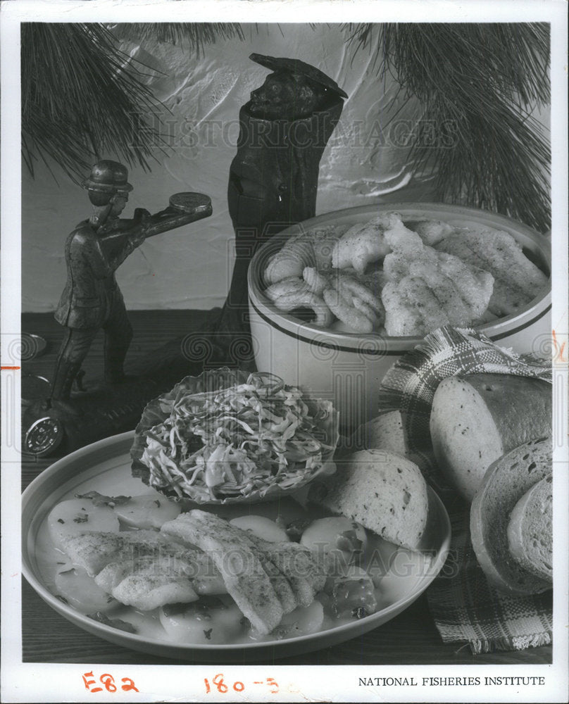 1974 Press Photo German Potato Skillet is a hearty dish - Historic Images