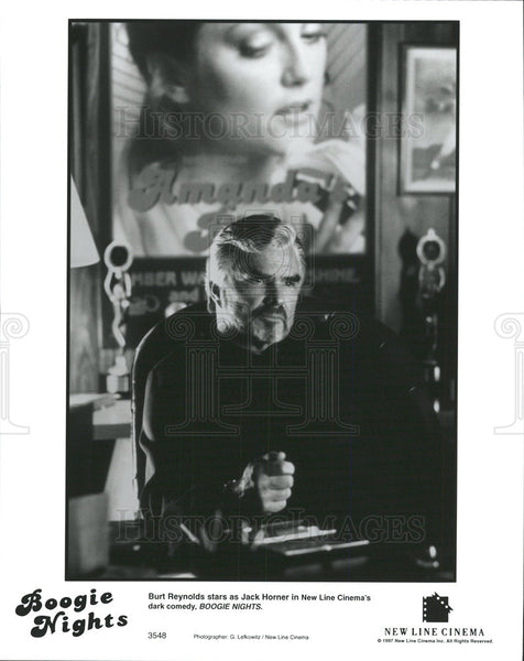 1997 Press Photo Burt Reynolds American Film Actor  - Historic Images