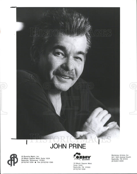 1997 Press Photo John Prine recording artist folk  - Historic Images