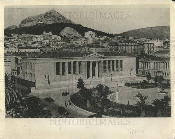 1932 Press Photo The University Of Athens & The Academy - Historic Images