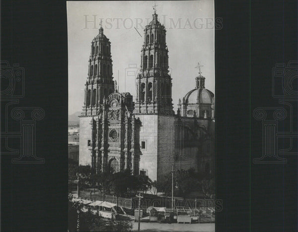 1916 Press Photo Chihuahua Cathedral Equipped Mexico - Historic Images