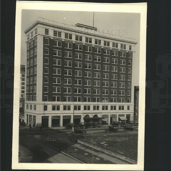 1918 Press Photo Gallant building - Historic Images