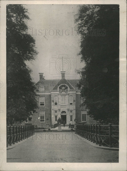 1918 Press Photo Middachten Castle Amerongen Holland  - Historic Images