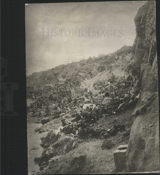 1915 Press Photo CLIFFS LALA BABA - Historic Images