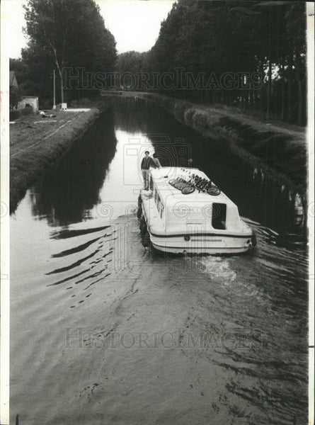 1923 Canals of France - Historic Images