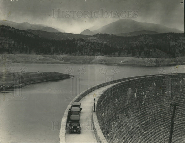 1902 Press Photo Cheesman Dam - Historic Images