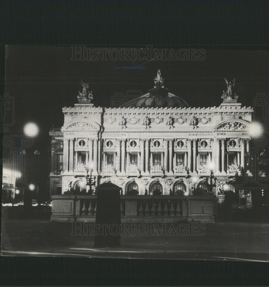 1965 Press Photo Opera In Paris,France - Historic Images