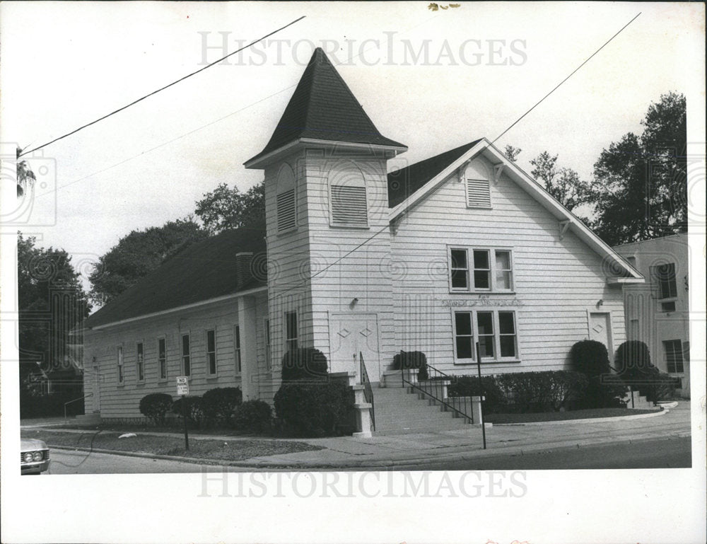 1972 Photo First Church Of The Nazarene At Clearwater - Historic Images