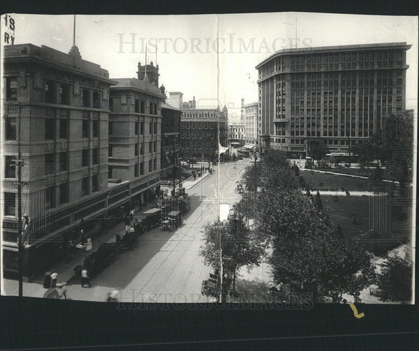 1916 Press Photo El Paso Business District - Historic Images