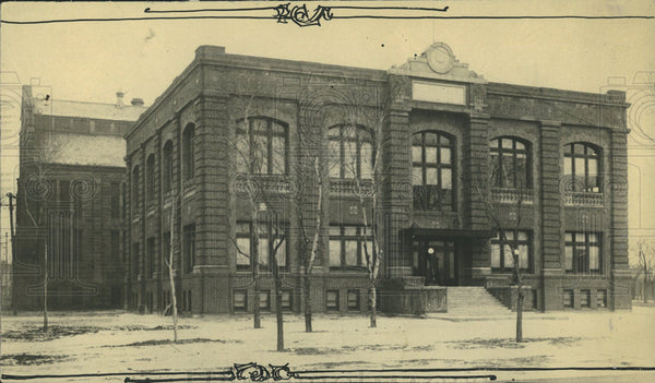 1922 Denver West Side Court Building - Historic Images