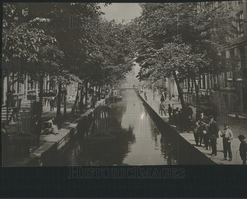 1916 Press Photo AMSTERDAM STREET NETHERLANDS - Historic Images