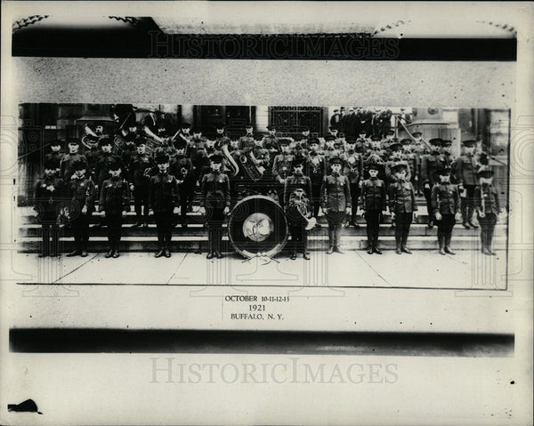 1921 Press Photo Buffalo New York Army - Historic Images