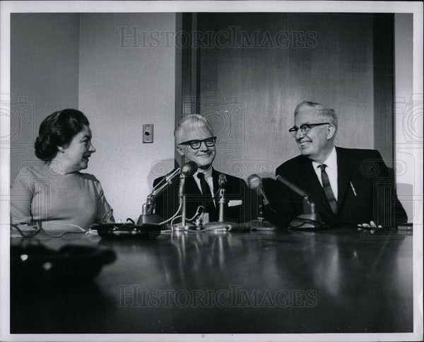 1965 Press Photo Wm. R. Keast Wayne State University - Historic Images