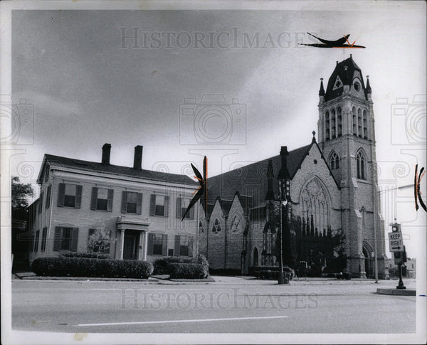1969 Press Photo Christ Church Jefferson Ave - Historic Images