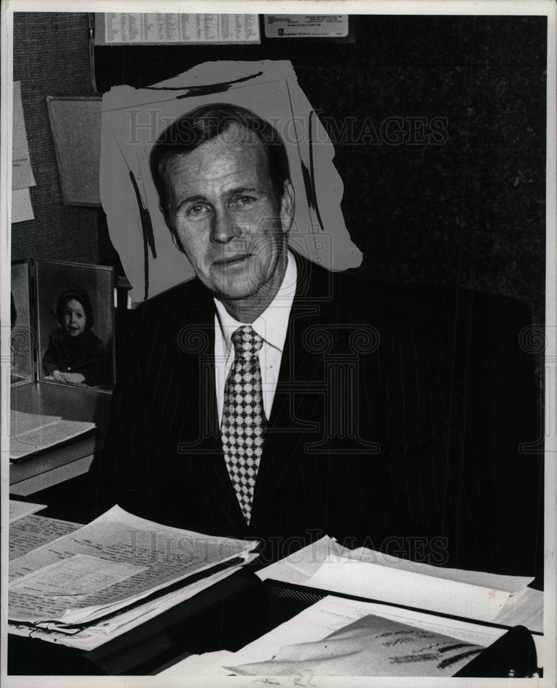 1971 Press Photo Robert Whalen resorts Bender Thomas   - Historic Images