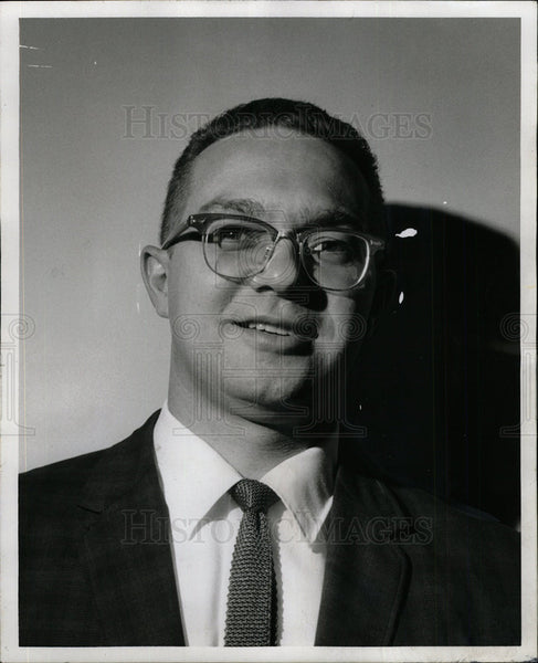 1967 Press Photo John Schulz Educator - Historic Images
