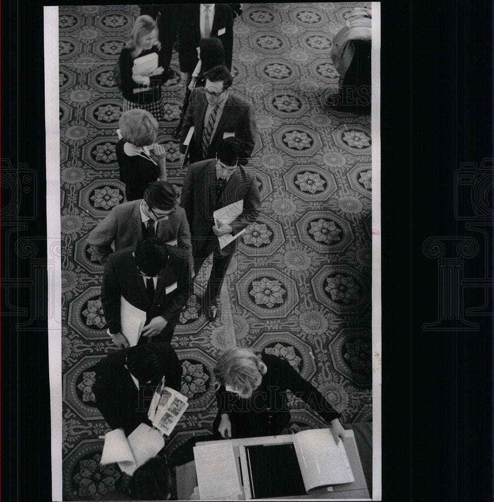 1969 Press Photo College Career Conference - Historic Images
