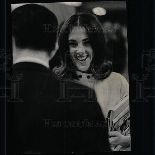 1967 Press Photo Career Fair Chicago - Historic Images