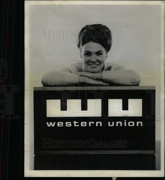 1968 Press Photo Western Union Adopts Trademark - Historic Images