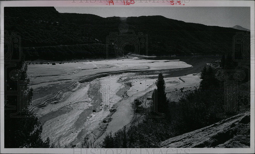 1974 Press Photo PAONIA RESERVOIR - Historic Images