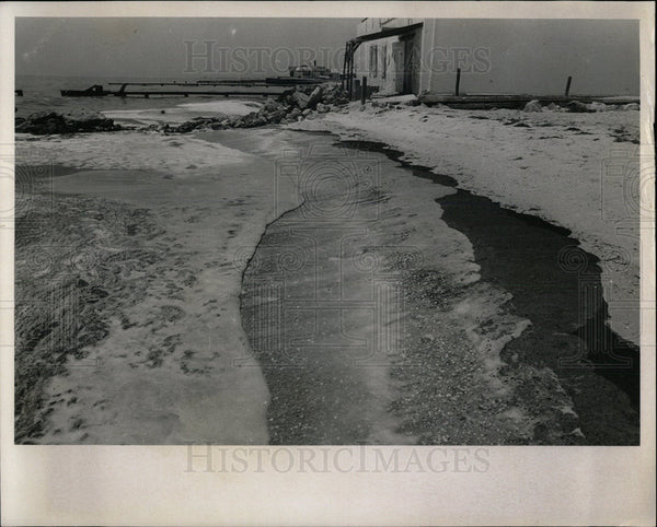 1967 Press Photo Beach - Historic Images