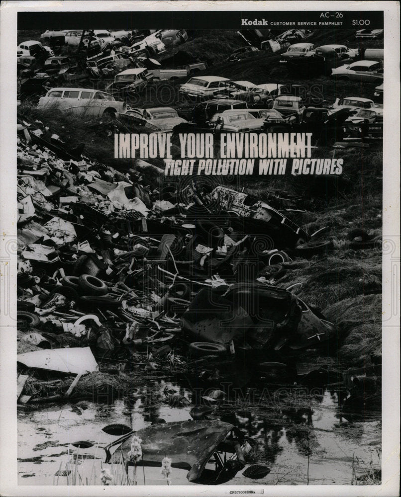 1971 Press Photo Improve Your Environment - Historic Images