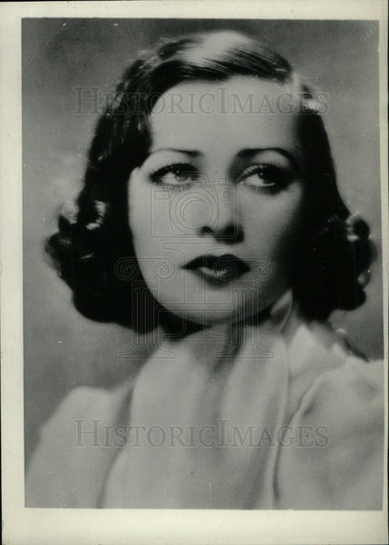 1933 Press Photo Sally O'Neill actress - Historic Images