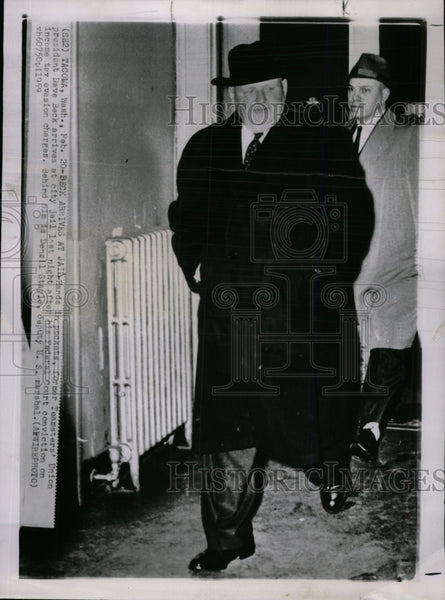 1959 Press Photo Teamster's Union President Dave Beck- RSA00039 - Historic Images