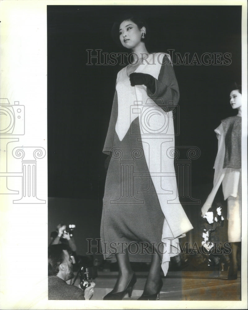 1983 Press Photo Ron Chereskin Women's Fashion Designer - Historic Images