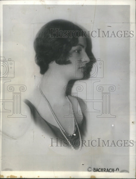 1930 Press Photo Mary Todhunter Clark Nelson Rockefelle- RSA16591 - Historic Images