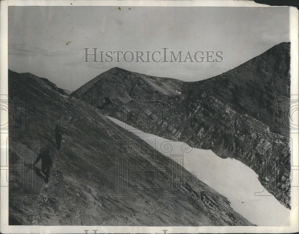 1930 Press Photo Hiking Forest Montana Mission Mountain- RSA32527 - Historic Images