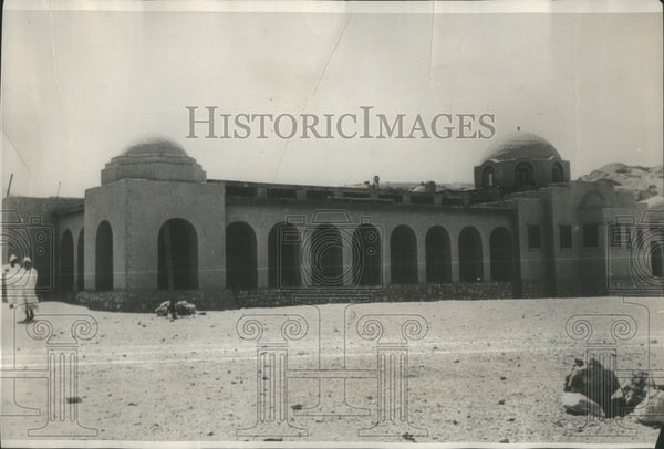 1931 Press Photo HEADQUARTERS OF THE ARCHAEOLOGISTS MET- RSA37495 - Historic Images