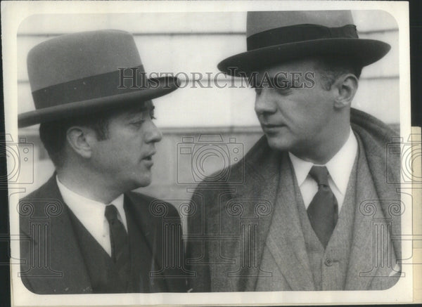 1927 Senator LaFolette Rep. George Combs - Historic Images
