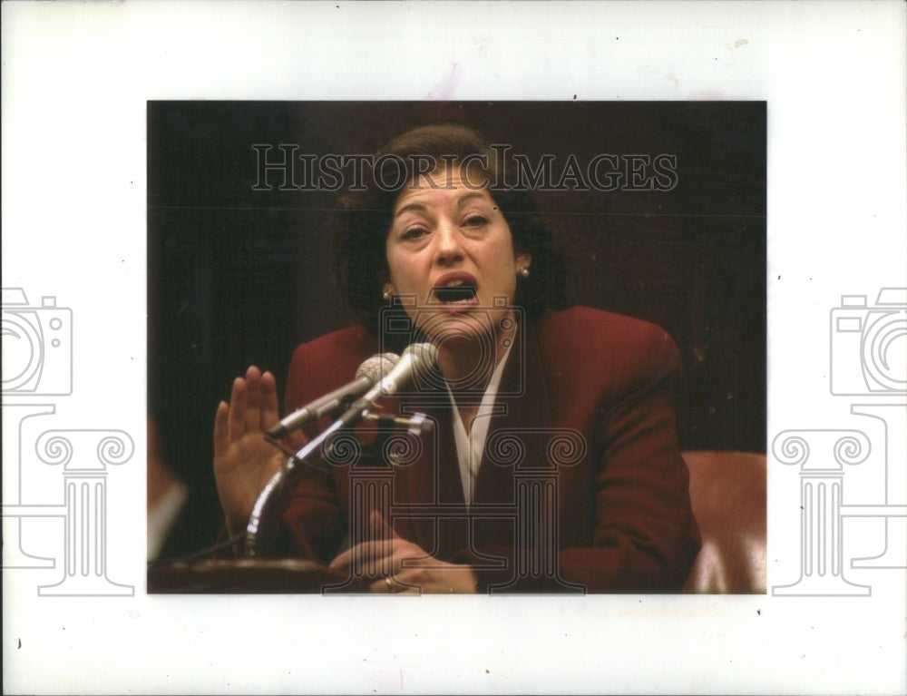 1993 Zoe E. Baird Attorney General Nominee - Historic Images