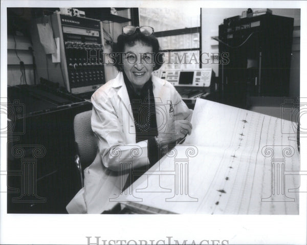 1991 Rosalind D. Cartwright, Dream research - Historic Images