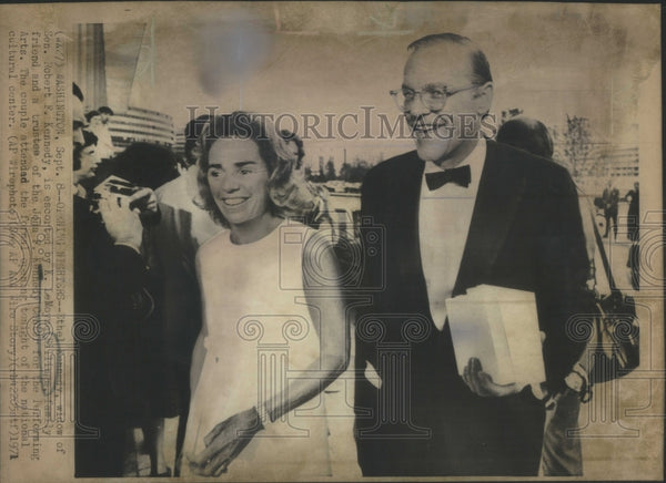 1971 Press Photo Ethel Kennedy Lemoyne Billings trustee- RSA54045 - Historic Images