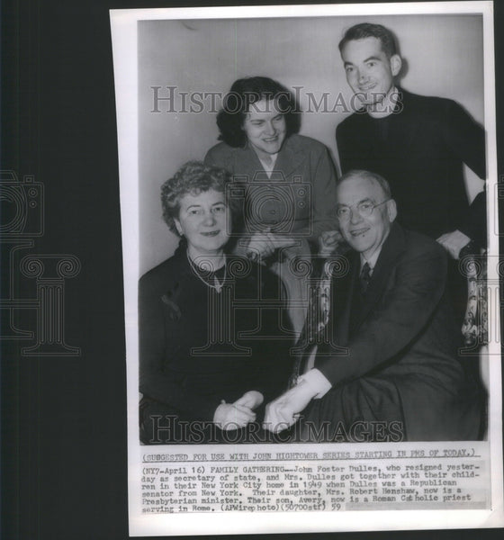 1959 Press Photo John Oster Dulles Secretary of States- RSA68999 - Historic Images